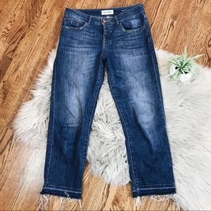 DL1961 Patti High Rise Straight Staggered Jeans